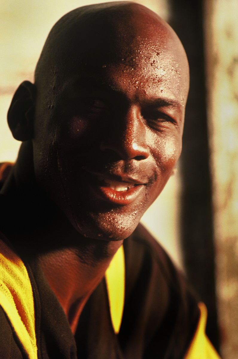 NBA legend Micheal Jordan for Gatorade : assignment : Portland Oregon based Commercial Photographer and Filmmaker Gary Nolton