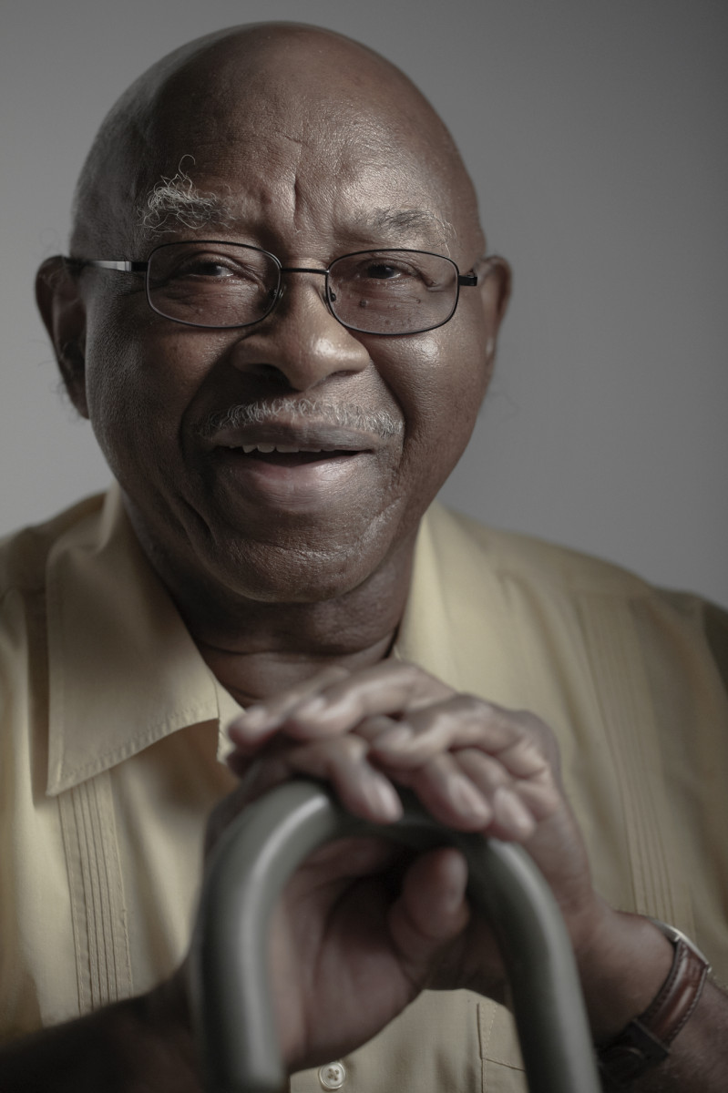 portrait of insured senior for Emblem Health, New York : commercial assignments : Oregon based Commercial Photographer and Cinematographer Gary Nolton